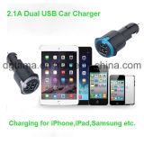 iPhone Samsung를 위한 보편적인 빠른 이중 USB 차 충전기