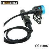 Hoozhu Hv3 급강하 2X 32650 건전지를 가진 영상을%s 영상 빛 4000 Lm 양철통 잠수 램프