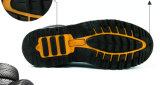 Zapatos de seguridad de acero del casquillo de la alta calidad y fábrica a prueba de calor del cargador del programa inicial de la seguridad (SC-8870)