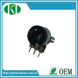 Mono potenziometro lineare rotativo di controllo di volume di 3 Pin con l'interruttore Wh148-K2-2