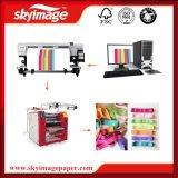 60cm * 90 cm de cordón del modelo de encaje de cinta de impresión con el calor de rodillo Máquina de prensa