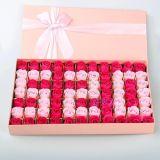 Jabón barato de Rose de la flor del baño del papel del precio del regalo del festival