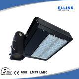 iluminação 100W do diodo emissor de luz Shoebox do lote de estacionamento do sensor de movimento da luz do dia 6500k