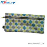Hot Sale 230d Polyester Zipper Pen Pouch para papelaria