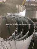 Los paneles compuestos de aluminio curvados