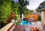 방수 수영풀 Merbau 나무 Decking