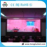 Muestra de interior de la visualización de LED de P2.5 HD para el alquiler de la etapa