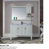 Cabinet blanc plus robuste en PVC monté sur le sol