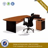 Classic L Shape CEO Office Table MDF Mobilier de bureau (HX-FCD042)