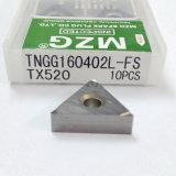 Зажим-Тип вставка цементированного карбида стали вольфрама точности Indexable