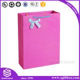Pink Cute Paper Packaging Sacola de presente para roupas de bebê