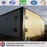 Sinoacmeの高品質のプレハブの軽い鉄骨構造の倉庫