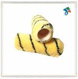 Funda de acrílico de la tela del tigre del cepillo del rodillo de pintura para la pintura de pared con la maneta plástica