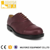 Milforce-Выбранные люди ботинок Brown кожаный Оксфорд материалов
