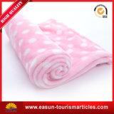 50%ポリエステル50%アクリルの極度の柔らかい子供毛布