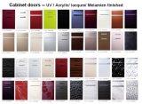 План кухонные шкафы Customzied размеров с красочными поверхность (DM-9620)