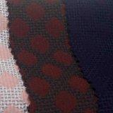 Tecido tingido Tecido de poliéster químico para roupa feminina Fibra uniforme