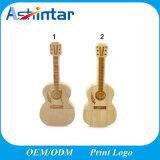 Azionamento di legno dell'istantaneo del USB del USB di memoria di Pendrive della chitarra del bastone di bambù del USB