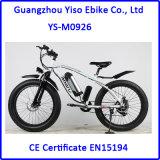 26 인치 4.0 지방질 타이어 산 바닷가 함 전기 뚱뚱한 자전거