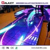 Precio de fábrica P6.25/P8.928 a todo color LED interactivo Dance Floor con el sensor de movimiento