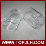 공백 승화 11oz 투명한 유리제 찻잔