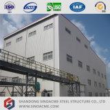 Costruzione prefabbricata della pianta della struttura d'acciaio di alto aumento
