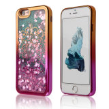 Защитный чехол ясности мягкий TPU сердца влюбленности глянцеватого яркия блеска динамический пропуская на iPhone 7