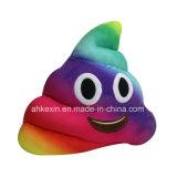 Подушка Emoji Poop смешной игрушки плюша малышей цветастая