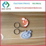 In het groot pvc Keychain van de Bevordering van de douane