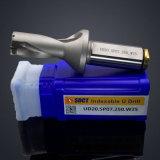 Modelo indexable Ud20 del taladro de las herramientas Drilling U. Sp07.250. W25 de Zhuzhou Sant con la pieza inserta Spgt07t308 o Spmg07 del carburo