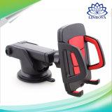 Support de support de véhicule de support de téléphone cellulaire de rotation de 360 degrés avec le surgeon collant