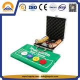 Случай обломока типа казина различного покера размера установленный (HW-5023)