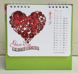 Горячая штемпелюя фольга для календара стола