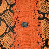 단화, 부대, 의복, 훈장 (HS-Y83)를 위한 다채로운 뱀 곡물 PU 인공 가죽