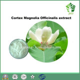 Estratto naturale Honokiol 98% della corteccia della magnolia dell'ingrediente delle estetiche pure
