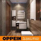 Современное здание белого цвета лака в ванной комнате Wall-Mounted шкафы с зеркалом (BC17-L02)