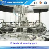 Автоматический нормальный разливать по бутылкам минеральной вода давления и покрывая машина