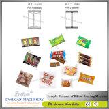 Máquina de embalagem horizontal automática para o biscoito