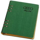 高品質のハードカバーのノートの昇進のギフト日記の印刷