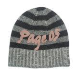 Cappello lavorato a maglia jacquard con il fiocchetto (JRK208)