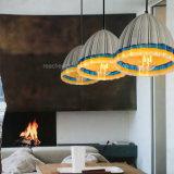Retro geometrischer Entwurfs-Wohnzimmer-Esszimmer-Kleber-Harz-buntes Leuchter-Anhänger-Licht
