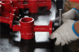 Grooved клапан-бабочка соединения конца резиновый с ISO одобренным Wras Ce