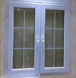 격자 Windows를 가진 PVC 여닫이 창 Windows