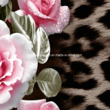 100%Polyester 이슬 꽃 Pigment&Disperse는 침구 세트를 위한 직물을 인쇄했다