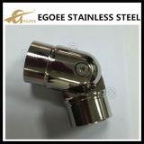 Codo ajustable de la barandilla de las guarniciones de la barandilla del acero inoxidable de los Ss 304 Ss 316