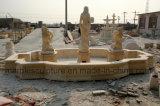 Fontana di marmo Mf-030 della statua della fontana della pietra della fontana