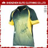 Críquete apto Jersey de Dri do Sublimation da alta qualidade (ELTCJI-16)