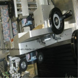 Máquina de etiquetado automática principal doble de la funda del encogimiento
