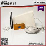 2018 Chaud nouveau Signal Booster 900MHz Gold répétiteur de signal pour une utilisation domestique amplificateur de signal avec deux ports d'antenne intérieure