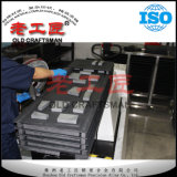 Placas do desgaste do transporte Chain de carboneto cimentado do tungstênio